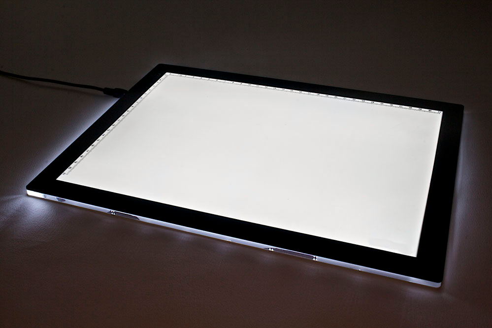 a3 led tracing light box foresight. Black Bedroom Furniture Sets. Home Design Ideas