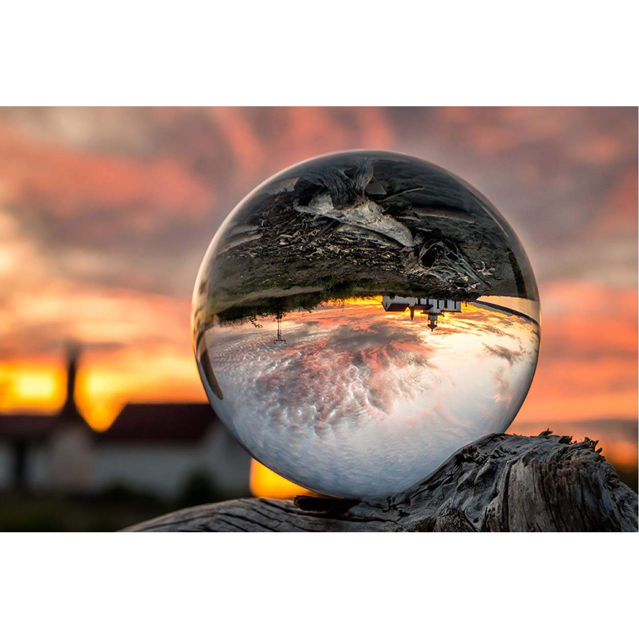 Foresight Crystal Glass Ball for Photography 80mm - Camera ...