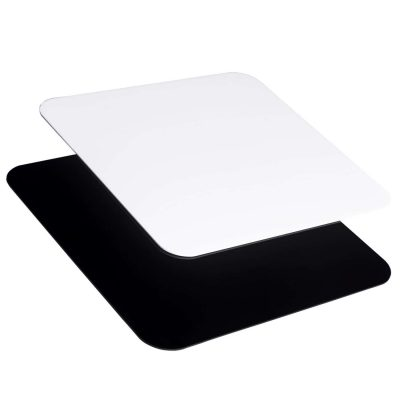 Foresight Acrylic Reflective Boards - Black and White - Product Photography (1)