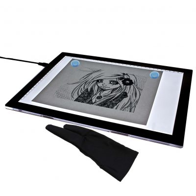A4 LED Tracing Light Box - USB powered