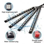 Foresight Car LED USB Strip Light - 4pcs 48 LED Multicolor - with Remote (5)