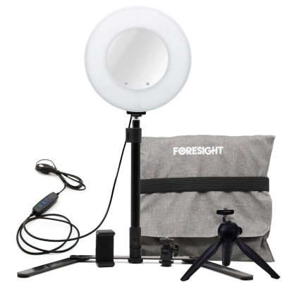 Foresight LED Video Ring Light Kit - 9 inch - USB (1) v2